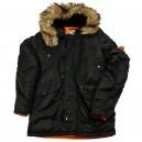 Куртка Аляска Nord Storm Husky Black/Orange