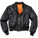 Куртка Surplus пилота МA-1 Black 203501,03